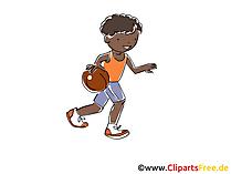Basketbal illustraties, afbeelding, afbeelding, grafisch vrij