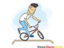Grafische Bikesport, illustratie, beeld, beeldverhaal, beeld
