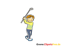 Cricket Bild, Sport Cliparts, Comic, Cartoon, Image gratis