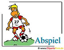 Futbol clipart ücretsiz