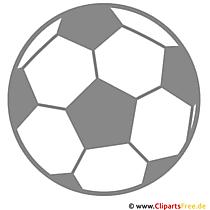 Voetbal clipart gratis