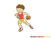Handball Bild, Clipart, Comic, Cartoon, Image gratis
