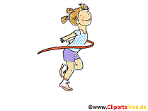 Joggen Ziel Bild, Clipart, Comic, Cartoon, Image gratis