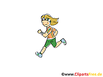 Marathon Bild, Sport Clipart, Comic, Cartoon, Image gratis
