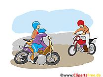 Moto-ball clipart, afbeelding