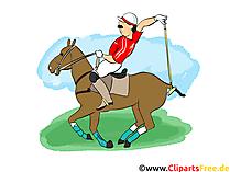 Polo Clipart, Afbeelding, Cartoon, Strip, Illustratie