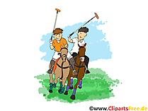Polo Illustration kostenlos
