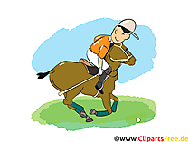 Polosport Bild, Cartoon, Comic, Illustration