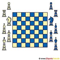 Schach Bild Clipart fee