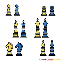 Schach Clipart-Bild gratis