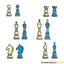 Schach Clipart koszenlos - Sport Cliparts free