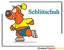 Schlittschuhe Clipart free Sport