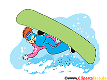 Surfer Clipart, Afbeelding, Cartoon, Strip, Illustratie