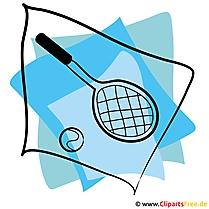Tennis Clipart - Sport Bilder kostenlos