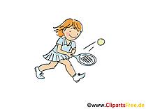 Tennis Training Afbeelding, Sport Cliparts, Cartoon, Cartoon, Afbeelding Gratis