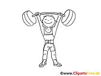 Olympiade Bild, Zeichnung, Clipart, Comic