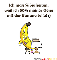 Bananensprüche, Witze Bananen als Bilder