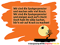 Halloweensprüche für Halloween via WhatsApp, Facebook, Twitter etc. verschicken
