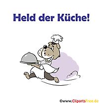 Küchenspruch, Sprüche witzig zum Thema Essen