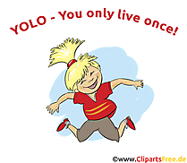 Lustige Profilbilder - YOLO - You only live once