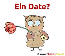 Lustiger Spruch - Ein Date
