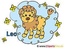 Foto's van het sterrenbeeld Loewe