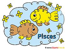 Vissen Zodiac - afbeeldingen Zodiac