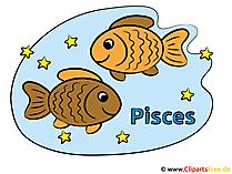 Zodiakafbeeldingen - Vissen