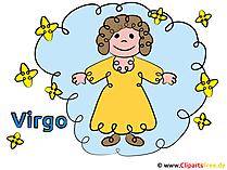 Zodiac Virgo-afbeeldingen