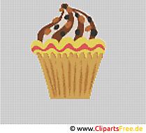 Sticken Muster Kuchen