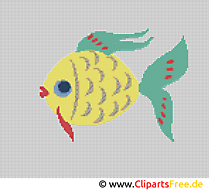 Stickbilder zum Herunterladen kostenlos Fisch