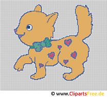 動物刺繍デザイン