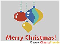 Kreuzstichvorlagen kostenlos zu Weihnachten