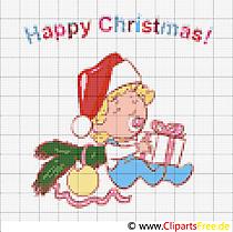 Sticken für Weihnachten - Vorlagen kostenlos