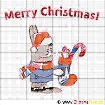Stickmuster Weihnachtsmotive
