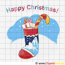 Stickmuster zu Weihnachten