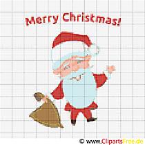 Weihnachten Stickvorlagen gratis
