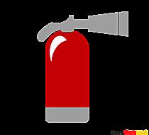 Clipart Feuerloescher