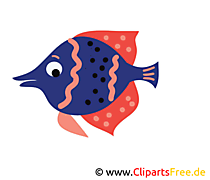 Aquarium Fisch Bild, Clip Art, Image, Grafik, Illustration gratis