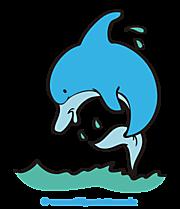 Delfin Clipart, Bild, Cartoon, Grafik kostenlos