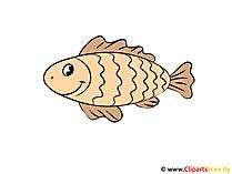 魚のクリップアート