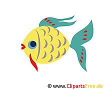 魚グラフィック無料