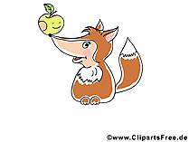 Fox Clipart - Schattige Clipart