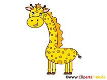 Giraffe Hund Clipart, Grafik, Illustration, Bild gratis
