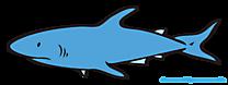 サメの漫画、PNGクリップアート、画像