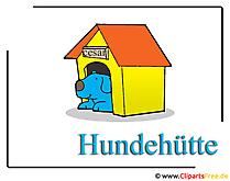 Doghouse foto gratis
