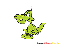 Krokodil Clipart, Bild, Grafik, Cartoon, Zeichnung gratis