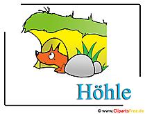 Lizenzfreie Clipart Hoehle
