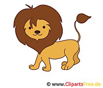 Löwe Bild, Clip Art, Image, Grafik, Illustration gratis