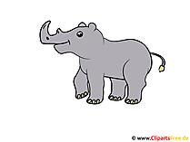 Rhinoのクリップアート